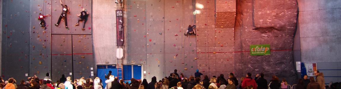 Compétitions d'escalade