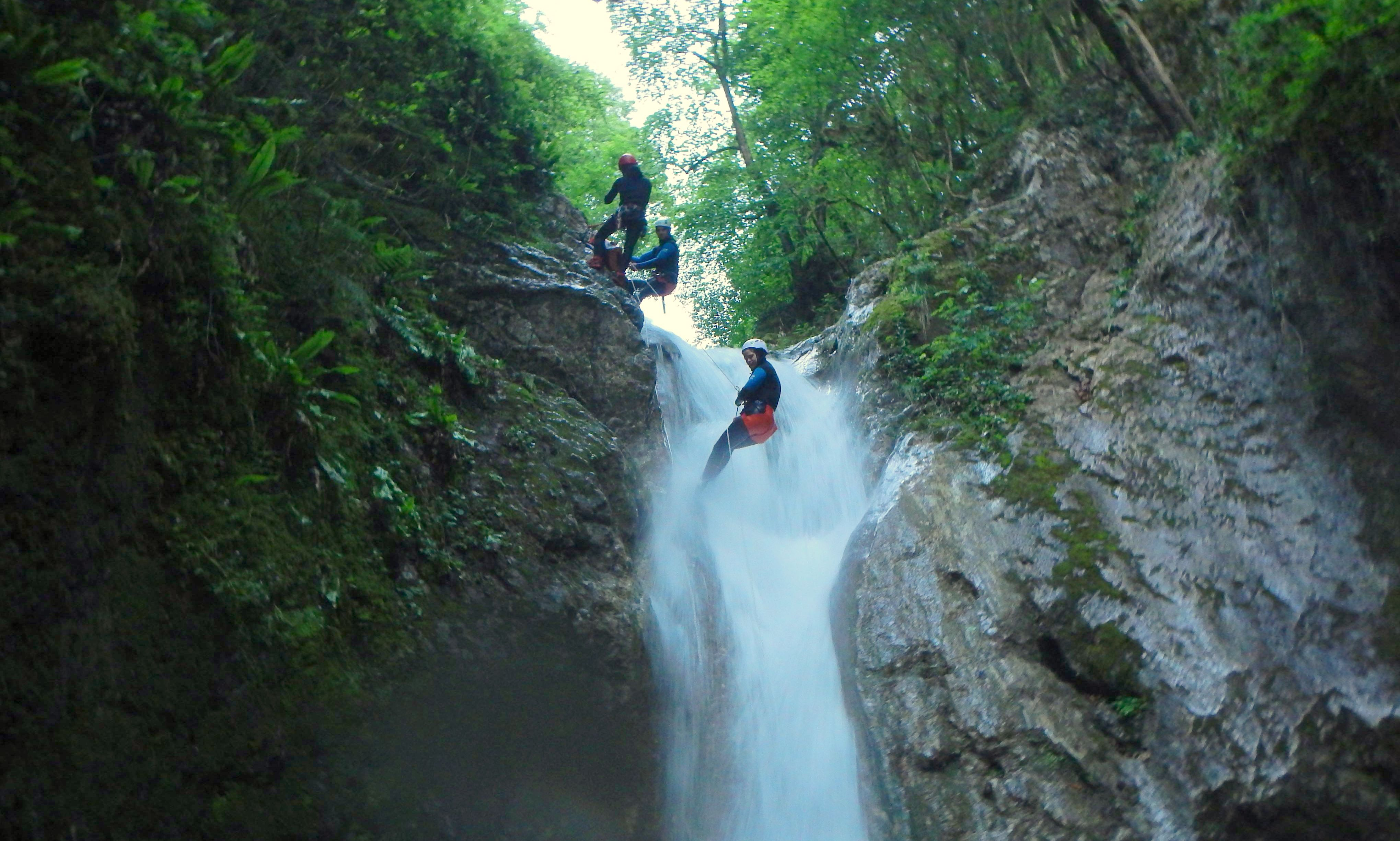 Sortie Canyoning 2018